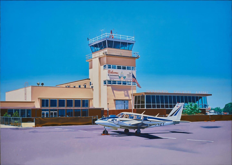 Wizualizacja architektury, wizualizacja lotniska, obraz hiperrealisty